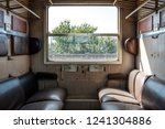 old train cabin of second class ...   Shutterstock . vector #1241304886