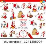 cartoon illustration of find... | Shutterstock .eps vector #1241308009