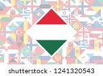 flag background of european... | Shutterstock .eps vector #1241320543