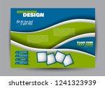 flyer  brochure  billboard... | Shutterstock .eps vector #1241323939