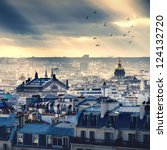 Small photo of Paris cityscape taken from Montmartre