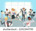 office deadline. business... | Shutterstock .eps vector #1241344750