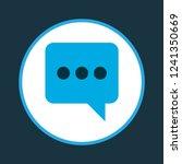 chatting icon colored symbol....