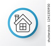 estate icon symbol. premium... | Shutterstock .eps vector #1241350930