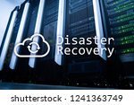 disaster recovery. data loss... | Shutterstock . vector #1241363749