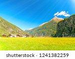 rural landscape in austria ... | Shutterstock . vector #1241382259