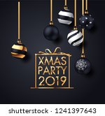 illustration of happy new year... | Shutterstock .eps vector #1241397643
