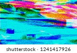 abstract glitch digital color... | Shutterstock .eps vector #1241417926