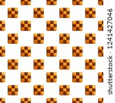 chess biscuit pattern seamless... | Shutterstock .eps vector #1241427046