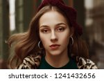 outdoor close up fashion... | Shutterstock . vector #1241432656
