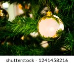 composition of the christmas... | Shutterstock . vector #1241458216