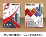 business abstract vector... | Shutterstock .eps vector #1241465560