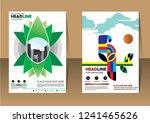 business abstract vector... | Shutterstock .eps vector #1241465626