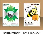 business abstract vector... | Shutterstock .eps vector #1241465629