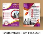 business abstract vector... | Shutterstock .eps vector #1241465650