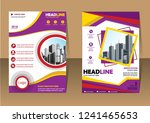 business abstract vector... | Shutterstock .eps vector #1241465653