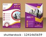 business abstract vector... | Shutterstock .eps vector #1241465659