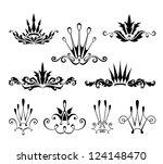 crown decorative design elements