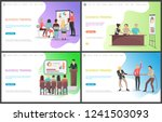 business training  seminar... | Shutterstock .eps vector #1241503093