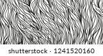 wavy intricate background. hand ... | Shutterstock .eps vector #1241520160