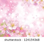 vector of spring blossoming...