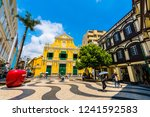 china  macau   september 6 2018 ... | Shutterstock . vector #1241592583
