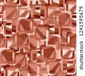 seamless pattern. copper theme. ... | Shutterstock .eps vector #1241595679