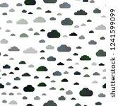 light green vector seamless... | Shutterstock .eps vector #1241599099