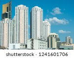 business district with high... | Shutterstock . vector #1241601706