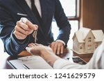 real estate agent sales manager ... | Shutterstock . vector #1241629579