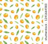 watercolor seamless pattern of...   Shutterstock . vector #1241664583
