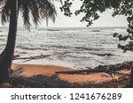 manzanillo beach  lim n in the ... | Shutterstock . vector #1241676289