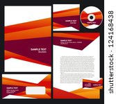 abstract creative corporate...   Shutterstock .eps vector #124168438