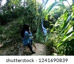 female model shooting in huay... | Shutterstock . vector #1241690839