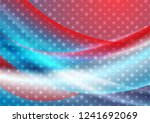 usa colors and stars abstract... | Shutterstock .eps vector #1241692069