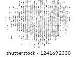 light silver  gray vector... | Shutterstock .eps vector #1241692330