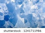 blue calcite mineral texture... | Shutterstock . vector #1241711986