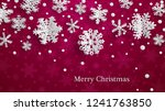 christmas illustration with... | Shutterstock . vector #1241763850