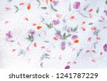 Mulberry Paper Background With...