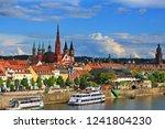 w rzburg bavaria germany    05... | Shutterstock . vector #1241804230