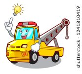 have an idea tow truck for... | Shutterstock .eps vector #1241810419