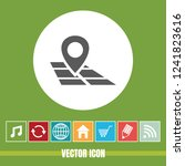 very useful vector icon of map...