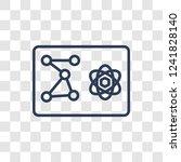 quantum computing icon. trendy... | Shutterstock .eps vector #1241828140