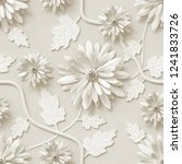 3d Background  Floral Wallpape...