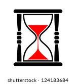 hourglass icon | Shutterstock .eps vector #124183684