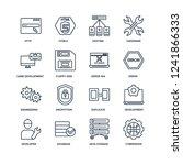 cyberspace  data storage ... | Shutterstock .eps vector #1241866333