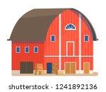vector illustration of a red...   Shutterstock .eps vector #1241892136
