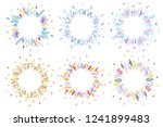 cute and elegant vector floral... | Shutterstock .eps vector #1241899483