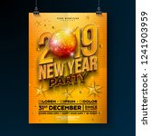 new year party celebration... | Shutterstock .eps vector #1241903959