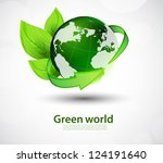 ecology concept | Shutterstock .eps vector #124191640